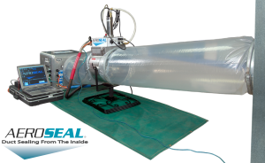 aeroseal device for improved indoor air quality
